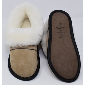 Sheepskin Slippers Garneau Cane
