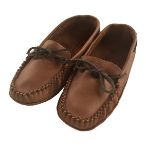 1461 Men's Peanut Colour Moccasins Slipper