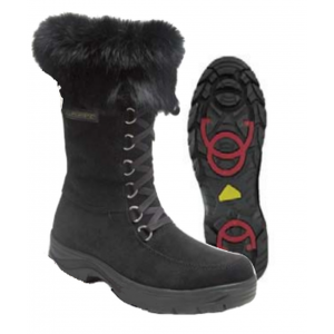 Barbo Black Flipgripz Ladies Winter Boots
