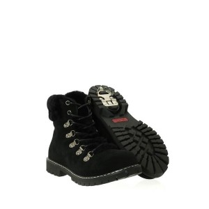 Barbo Black Lace Up Ladies Flipgripz