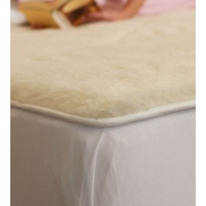 Wool : Mattress Pad-Queen Size