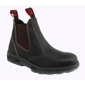 The Red Back Slip on Short Boot Steel Toe USBOK