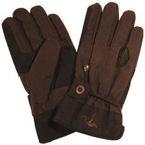 Oilskin gloves