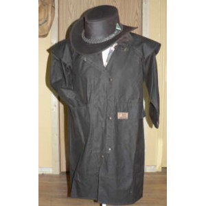 Kids oilskin coat