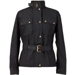 The Territory oilskin jacket for women