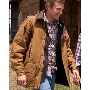 The Winton oilskin jacket