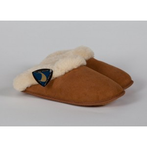 Ladies sheepskin slipons
